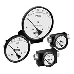 0-10PSID, PSD SERIES, HIGH STATIC PRESSURE DIFFERENTIAL, SMALL CONVOLUTED, DIAPHRAGM, GAUGE TYPE