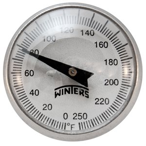 "0-250 F ""PT"" POCKET THERMOMETER"